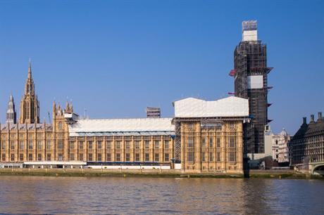 Parliament: Business and Planning Bill introduced last week (pic: R Boed, Flickr)