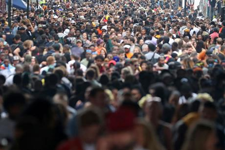 Population: latest projections for England forecast significantly lower growth than previously predicted (Pic: Getty)