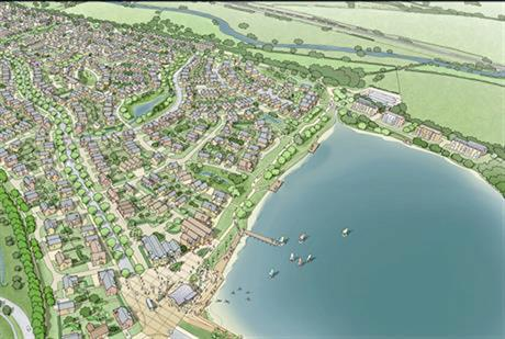 Artists impression of scheme at Rugely, Staffordshire. Image by Engie