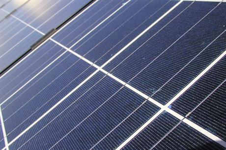 Solar energy: the new net zero carbon target is likely to mean support for such renewable energy schemes