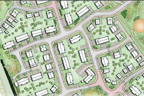 A masterplan visualisation of the East Stanley development. (pic: Gladman)