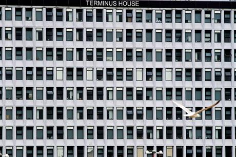 Terminus House, Harlow, an office-to-housing conversion - image: Getty