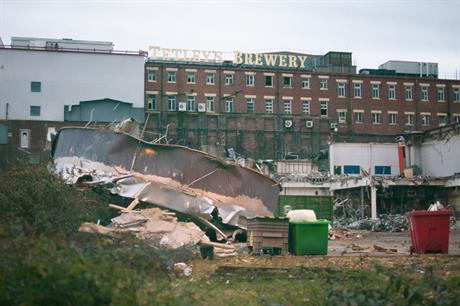 Tetley Brewery: factory closed in 2011 (pic: Dave Shipp via Flickr)