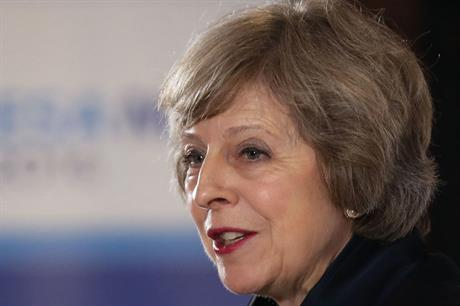 Prime Minister Theresa May: zero carbon announcement today