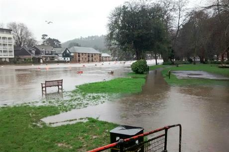 Totnes: application to improve flood defences has been submitted (picture: Nigel - a wanderer, Flickr)