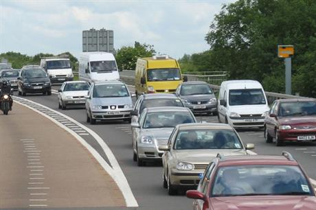 Traffic: report says garden communities schemes risk increasing congestion (pic: nikoretro, Flickr)