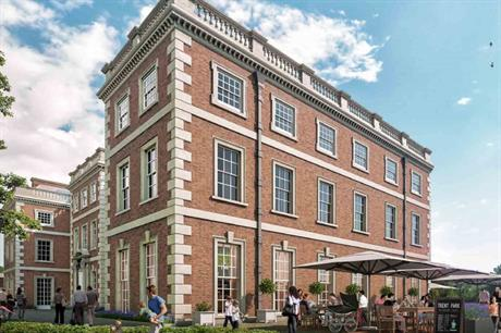 Trent Park: plans include the refurbishment of Grade II listed Mansion House