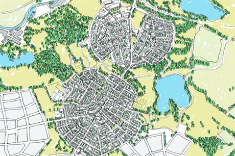 urban extension plan scoops wolfson garden city award planning