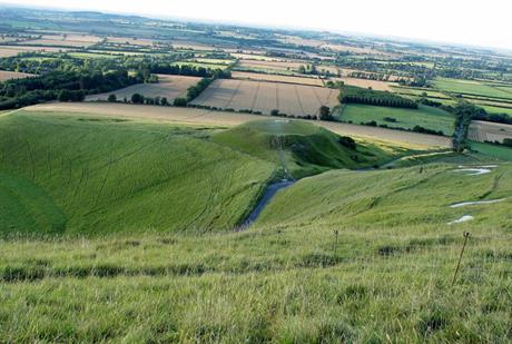 Vale of White Horse. Image by Gareth Williams, Flickr