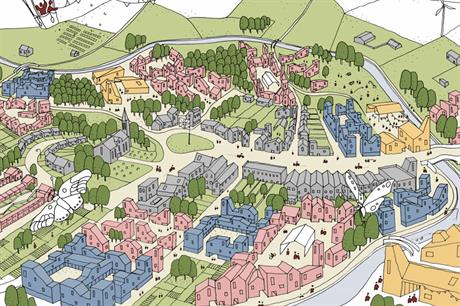 Winning design: the VeloCIty team's vision for green settlements won a National Infrastructure Commission competition for ideas on how to develop the corridor