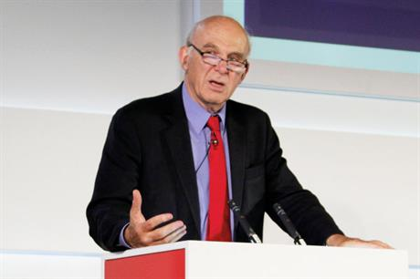 Former Liberal Democrat business secretary Vince Cable will speak at the event