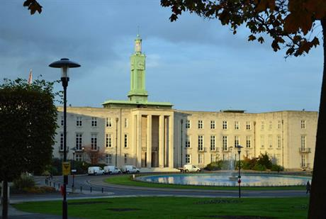 Waltham Forest Town Hall. Image by Matt Brown, Flickr