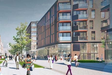 A visualisation of the Westferry Printworks development. Pic: Westferry Developments/PLP Architecture