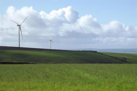 Wind farms: concerns over increasing uncertainty surrounding applications policy (Photo credit: Mark Coleman)