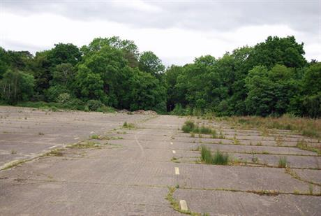 The former Wisley airfield: green belt site allocated in Guildford local plan. Pic: N Chadwick, geograph.org
