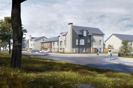A visualisation of the Birmingham development (pic: BM3 Architecture)