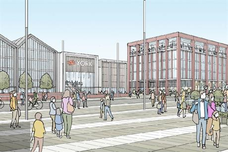 A visualisation of the York Central scheme (Pic: York Central Partnership)