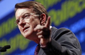 Mandelson: headline-grabbing quango cuts but also plans to widen access to training