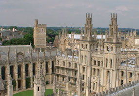 Oxford: higher than average employment rates