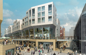 Sevenstone: The retail-led scheme's backers say they need new funding powers to proceed with the development