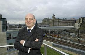 Dave Anderson, director of city development, City of Edinburgh Council. Douglas Robertson photo