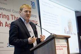 NLP director Matthew Spry at the IED conference
