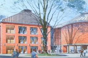 Towcester: artist's impression of the proposed development