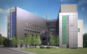 An artist's impression of the new dental facilities