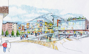 Basildon town centre is to undergo a revamp.