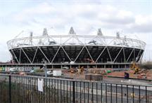 London 2012 Olympic stadium: