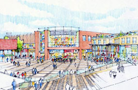 Basildon: redevelopment plans scaled back