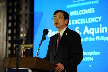 ADB president Takehiko Nakao (Image credit: Asian Development Bank)