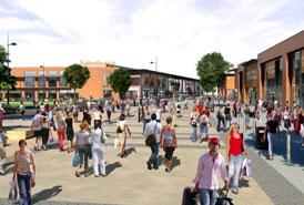 St Modwen: developer proposing retail regeneration scheme