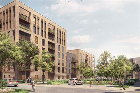 New buildings on the Arthur Street estate will range from three to nine storeys (PIC JTP)