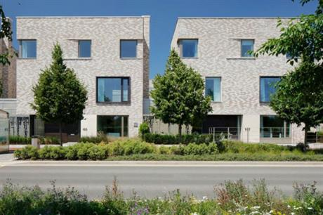 Code for Sustainable Homes level 5 homes developed by housebuilder Hill at Athena, in Eddington, the neighbourhood being created by the University of Cambridge in north west Cambridge (PIC Hill)