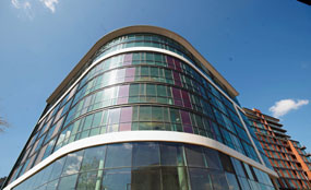 Gateway Plaza: The office part of the speculative mixed-used scheme had only one tenant before Barnsley Council bought the space
