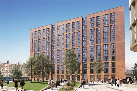 The Becketwell scheme will begin with build to rent apartments (PIC Derby City Council)