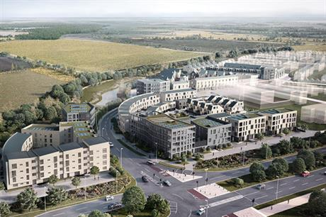 Barton Park is providing 885 homes, some 40 per cent of which will be affordable