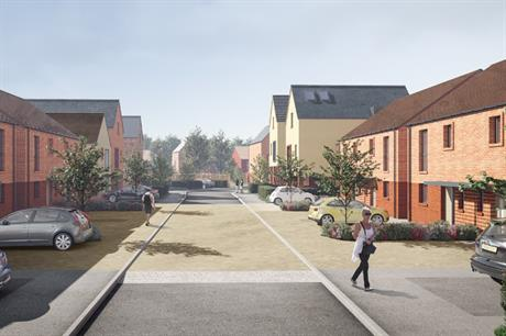 The Basford East development will include homes for market sale and affordable tenure (PIC PRP)
