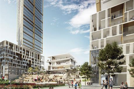 The aim is to develop the Stephenson Street site in Newham, east London, as a mixed tenure community