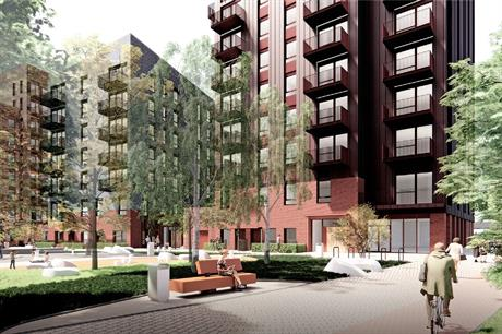 Better Queensway's masterplan combines new homes with public realm, trees and cycle routes (PIC dRMM and Porters Place Southend-on-Sea LLP)