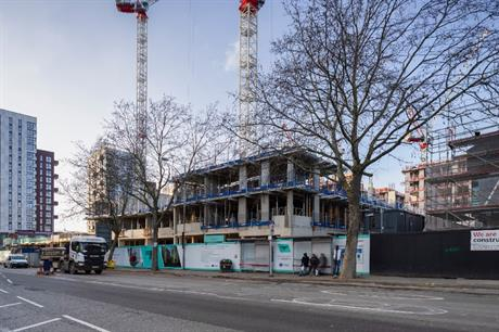 Transport for London has been driving redevelopment of land for housing, as at Blackhorse Road station, where it is working with housebuilder Barratt London and housing provider L&Q (PIC TfL)