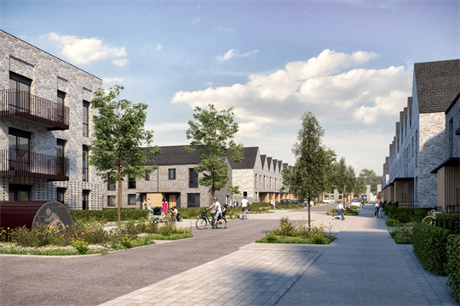 One of Bristol's innovative housing schemes (PIC Bristol City Council)