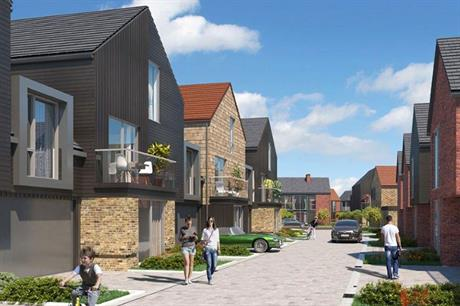 An artist's visualisation of the finished Chelmsford scheme
