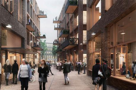 The masterplan for Canada Water includes homes, retail, leisure and workspace (PIC Allies and Morrison)