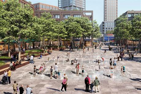 Developer British Land is working with Southwark Council at Canada Water, which has a social regeneration charter (PIC British Land)