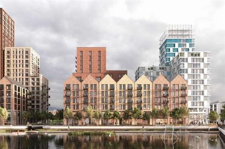Cotton Quay aims to provide homes alongside leisure facilities, all on the waterfront (PIC Studio Egret West)