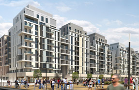 Olympic Village: 2,818 new homes are planned