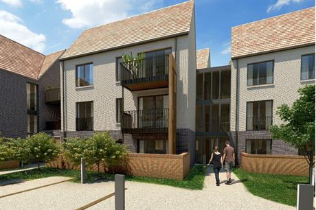 Hanover's Woodside Square scheme in north London includes a range of tenures for differing affordability levels (PIC Hanover Housing Association)
