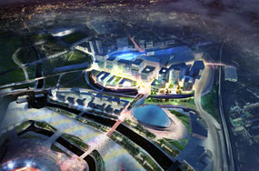 International Quarter: work could start in 2012